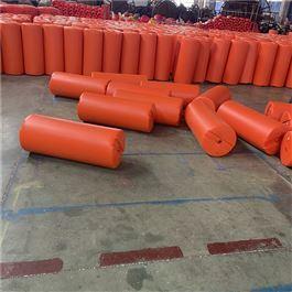 FT600*1000圆柱浮筒自浮在水面拦污阻污浮体