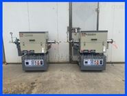 BJXG-8-10气氛回转炉 电阻丝管式炉 不锈钢炉胆烧结炉