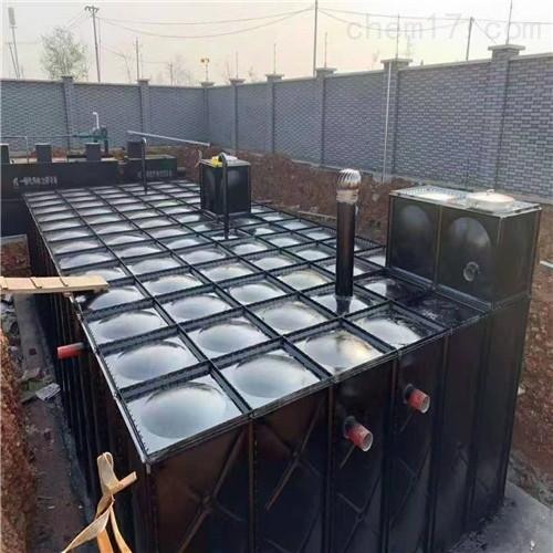 邢台地埋箱泵一体化消防泵站安装问题