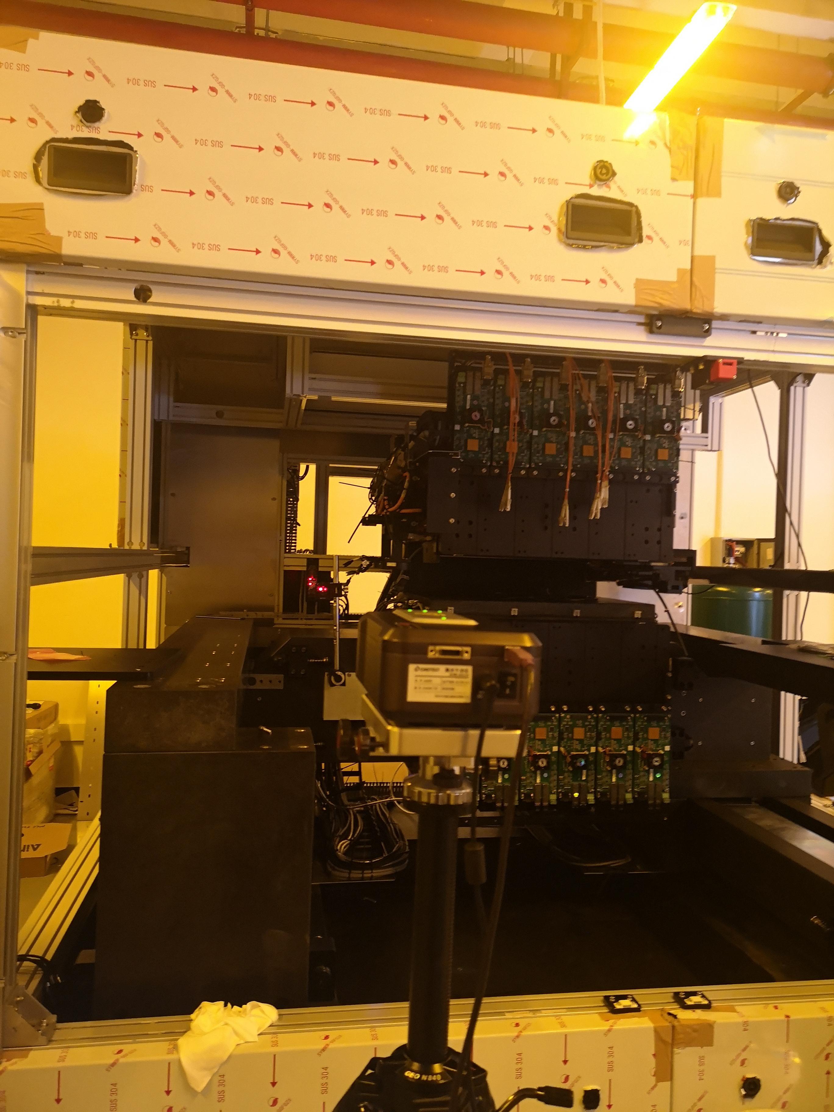 SJ6000激光干涉仪检测光刻机