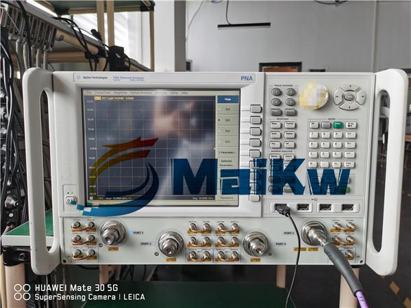 安捷伦网络分析仪N5244A输出异常指标偏差维修案例
