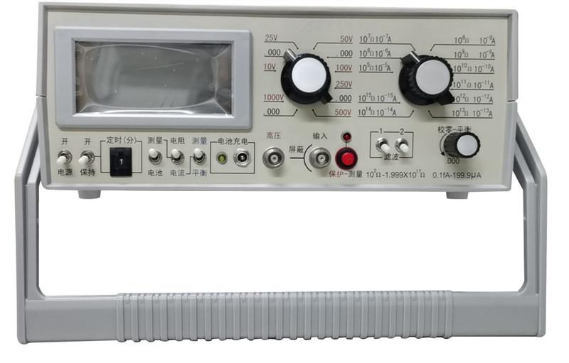 ZST-122體積和表面電阻測試步驟