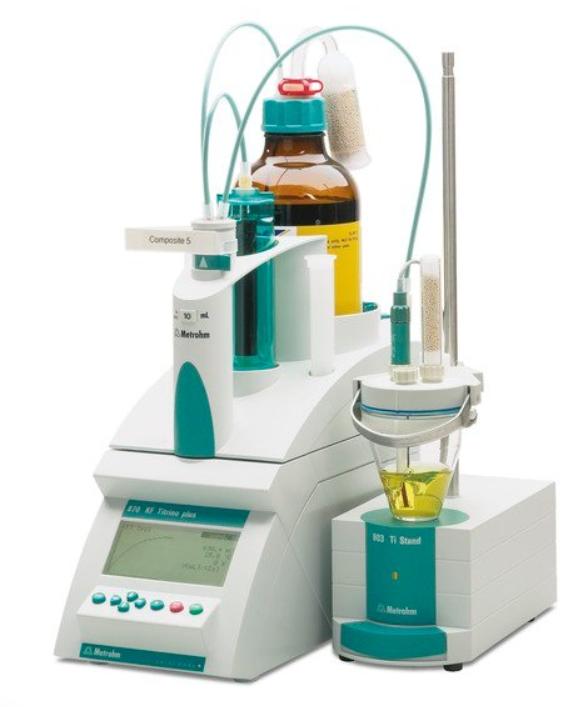 870 Titrino plus在制药行业的应用