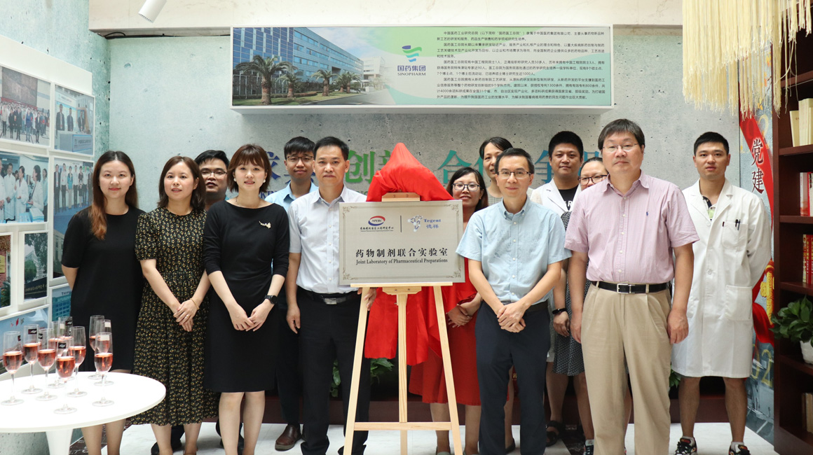 德祥集团与药物制剂国家工程研究中心建立药物制剂联合实验室