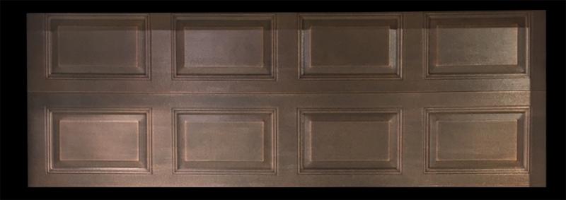 铜质车库门面板工艺