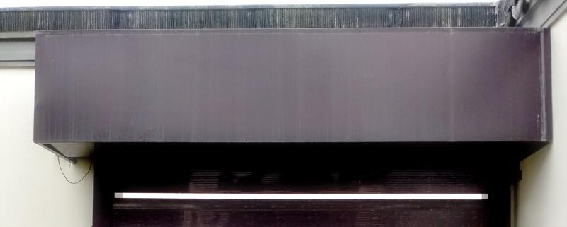 中式铝合金排挂车库门包厢