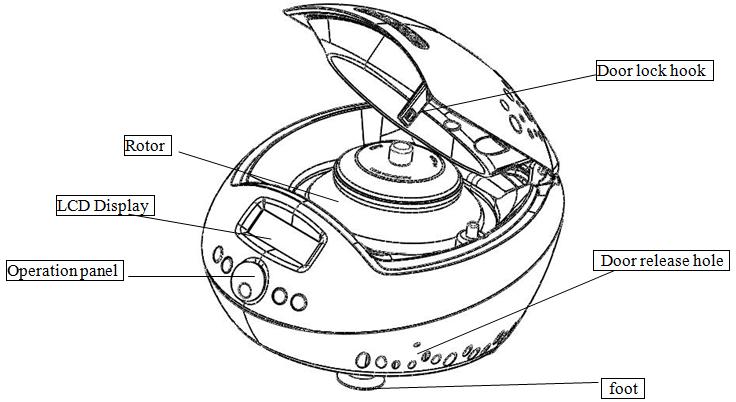 台式医用低速离心机DT5-2