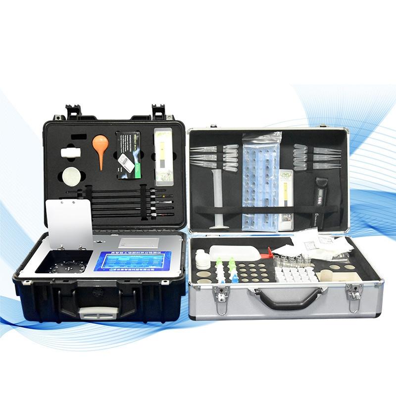 高智能土壤环境测试及分析评估系统设备实验室方案
