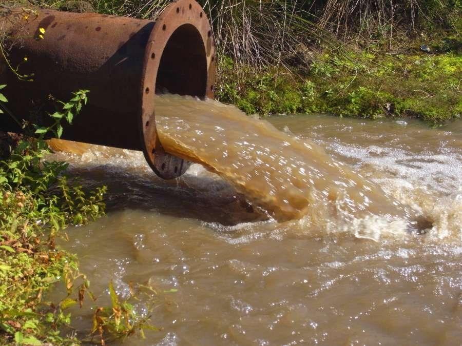 河流水质酸度超标