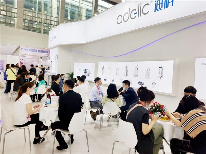 迪科广州美博会展台