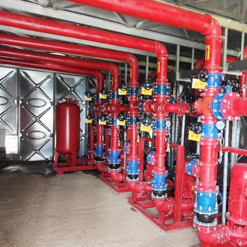 地埋式箱泵一体化消防泵站
