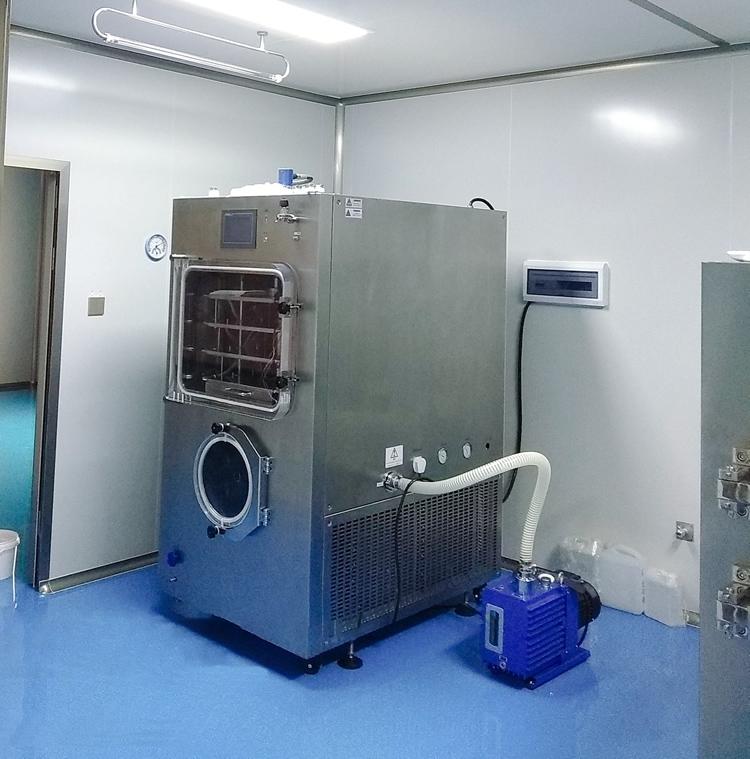 生长因子冻干粉压盖型一平方冷冻干燥机