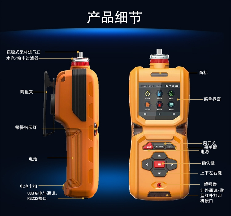 <strong>便携式硫酰氟气体检测仪</strong>