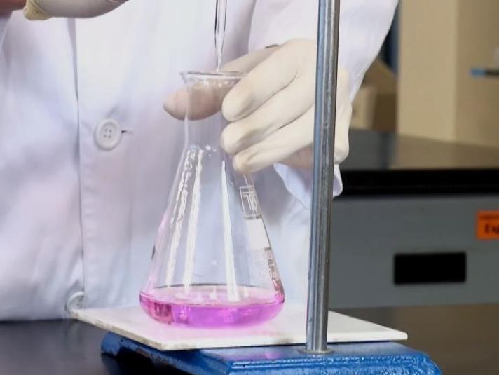 DPD分析余氯时显现红色