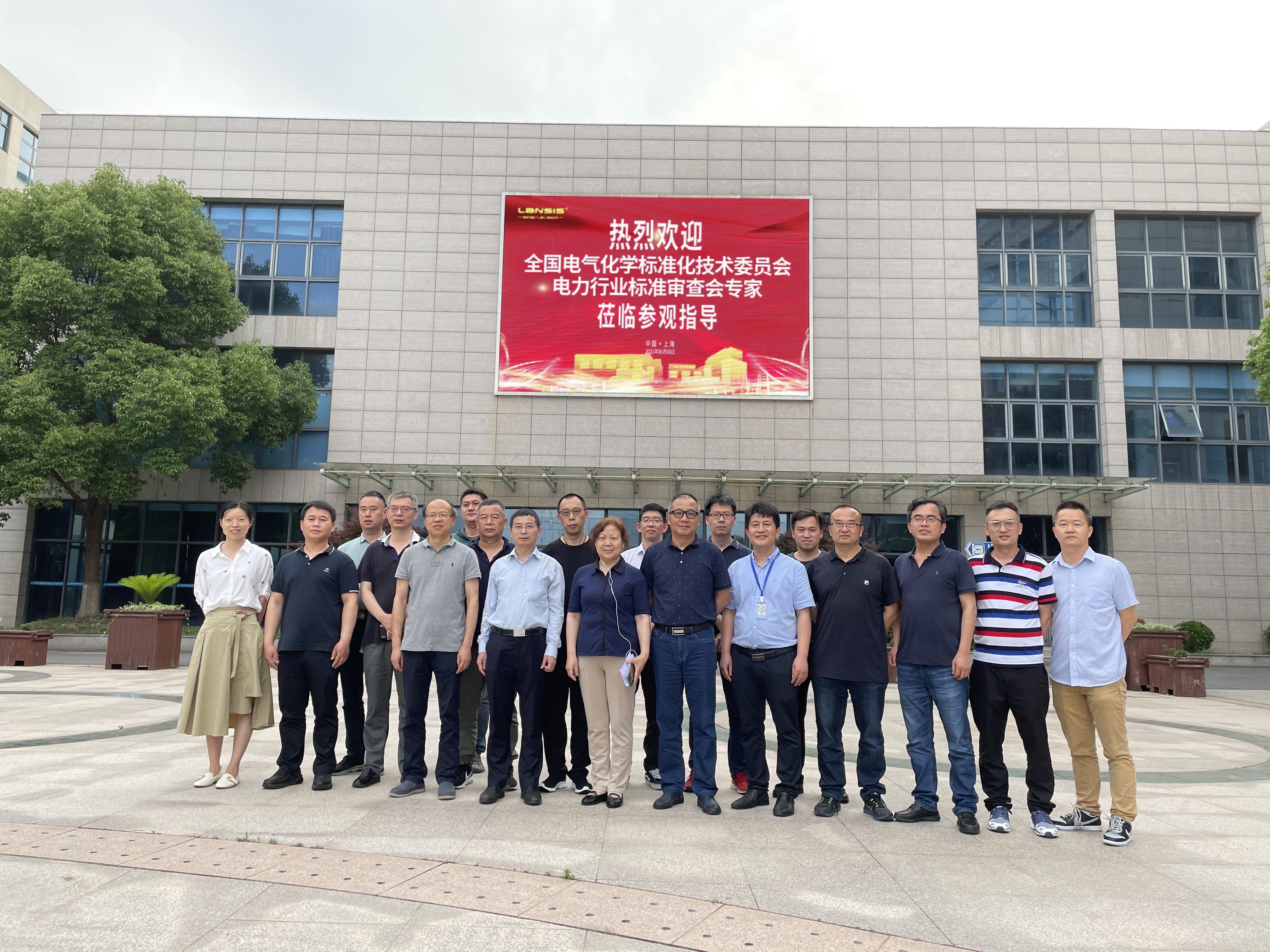 朗析仪器协办电力行业标准审查会
