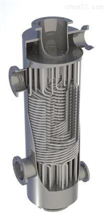 缠绕管式换热器