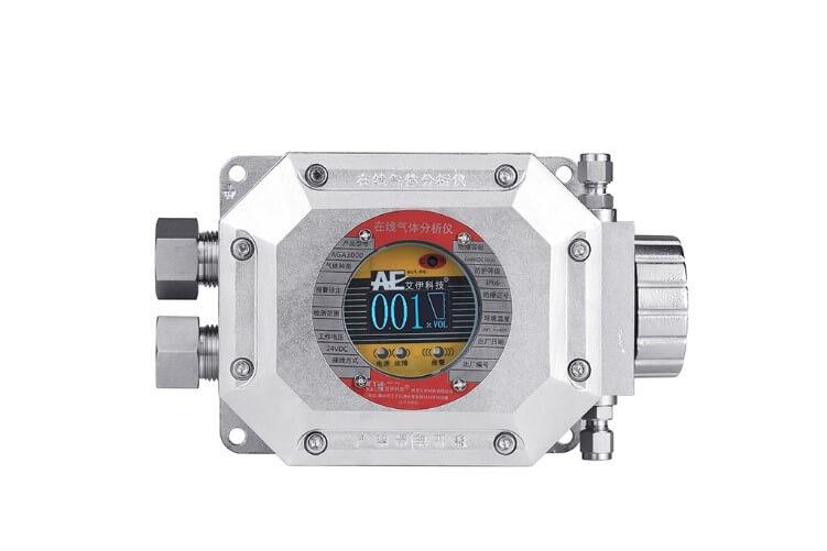 管道微量氧气气体分析仪